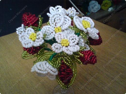 немного моих поделок...любимые цветы фото 6