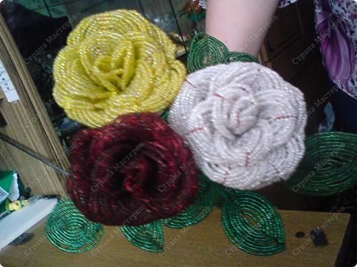 немного моих поделок...любимые цветы фото 7