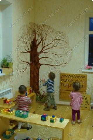 Вот такое дерево появилось у нас осенью.  фото 2