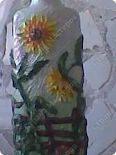 Бутылка с разных сторон. фото 1