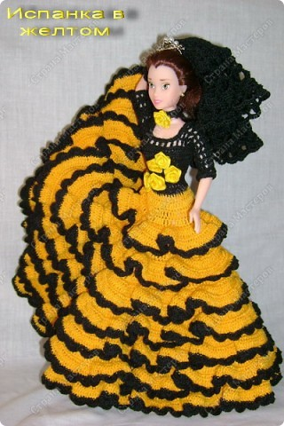 спицами Одежда для кукол