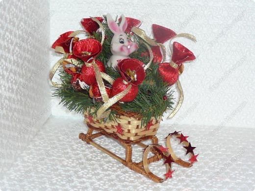 Саночки с Дедом Морозом. фото 2