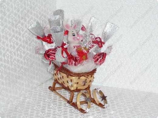 Саночки с Дедом Морозом. фото 3
