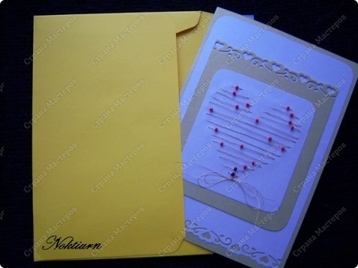 Вот такие открытки близняшки у меня получились.Спасибо Оле http://stranamasterov.ru/node/134949 за вдохновение. фото 5