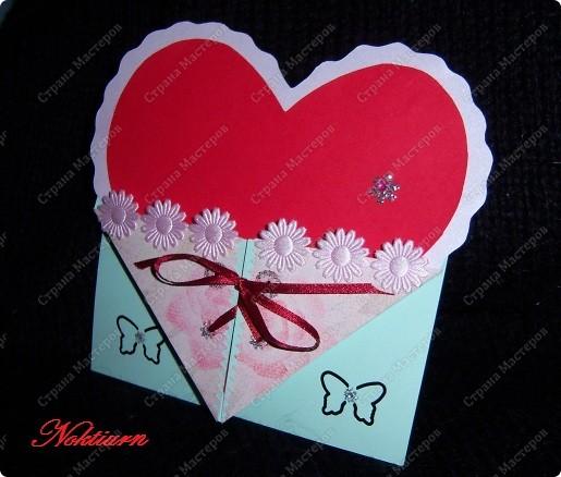 Вот такие открытки близняшки у меня получились.Спасибо Оле http://stranamasterov.ru/node/134949 за вдохновение. фото 3