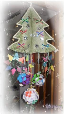 В садик моего сынули попросили под новый год какие-нибудь украшения для оформления группы - купить, отдать, смастерить... Сшила я вот елочку-подвеску. Выкройку можно взять здесь http://stranamasterov.ru/node/112369 фото 1