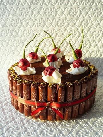 Тортик из конфет своими руками с пошагово