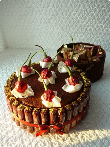 Сама идея торта с Осинки. Идея вишни - моя. фото 2