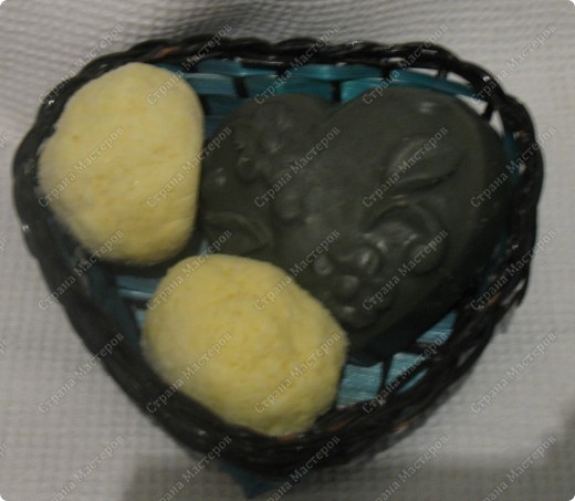 Набор антицеллюлитный: 2 бомбочки для ванн 1 мыло для тела с люфой В состав входят масла апельсина, облепихи и мяты фото 2