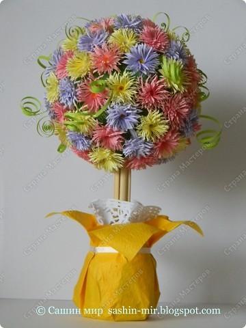 """Все помыслы только о весенних праздниках. Вчера """"вырастила"""" цветочное деревце. фото 5"""