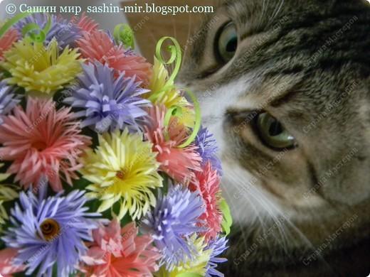 """Все помыслы только о весенних праздниках. Вчера """"вырастила"""" цветочное деревце. фото 4"""
