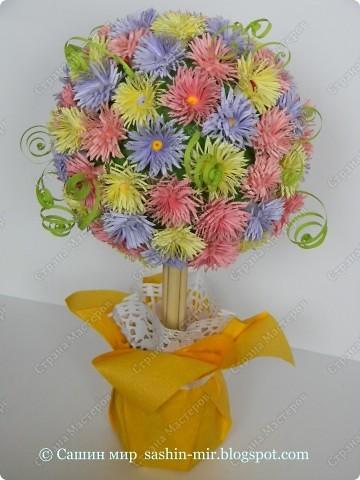 """Все помыслы только о весенних праздниках. Вчера """"вырастила"""" цветочное деревце. фото 1"""