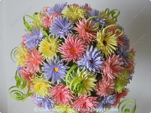 """Все помыслы только о весенних праздниках. Вчера """"вырастила"""" цветочное деревце. фото 3"""