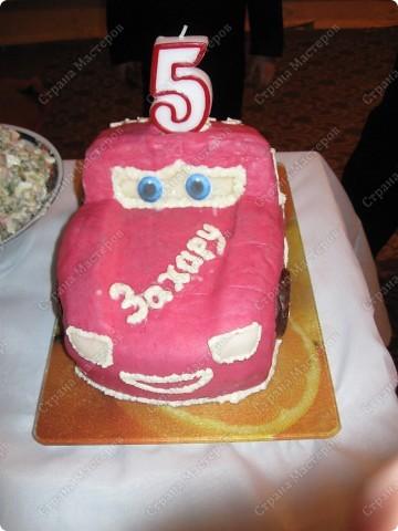 """Торт """"Машинка"""" фото 1"""