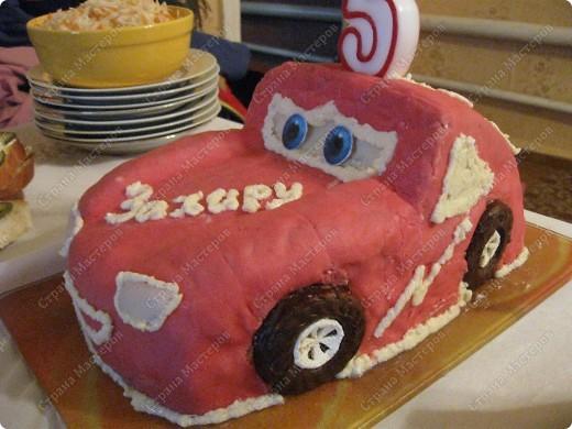 """Торт """"Машинка"""" фото 2"""