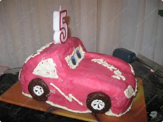 """Торт """"Машинка"""" фото 3"""