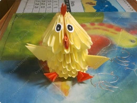 """Я прочитала книжку Татьяны Просняковой """"Забавные фигурки.Модульное оригами."""",и сразу захотела сделать поделку. фото 1"""