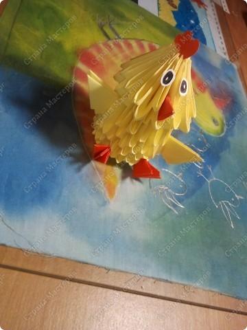 """Я прочитала книжку Татьяны Просняковой """"Забавные фигурки.Модульное оригами."""",и сразу захотела сделать поделку. фото 2"""