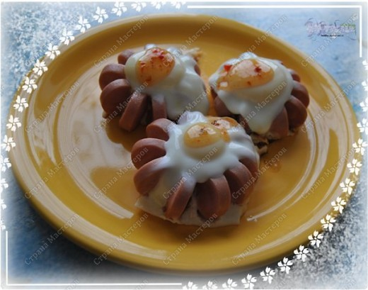Сосиски... - не очень-то и полезный продукт, а такой интересный в приготовлении! И весело и вкусно - два в одном! :-))) фото 2