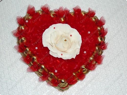 Розовое сердце. фото 3