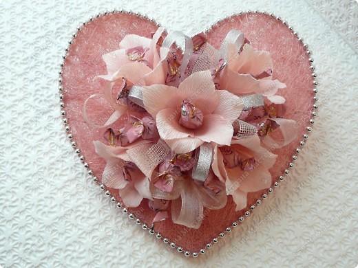 Розовое сердце. фото 1