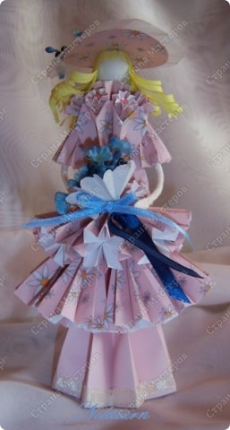 Куклы Оригами Кукла Весна