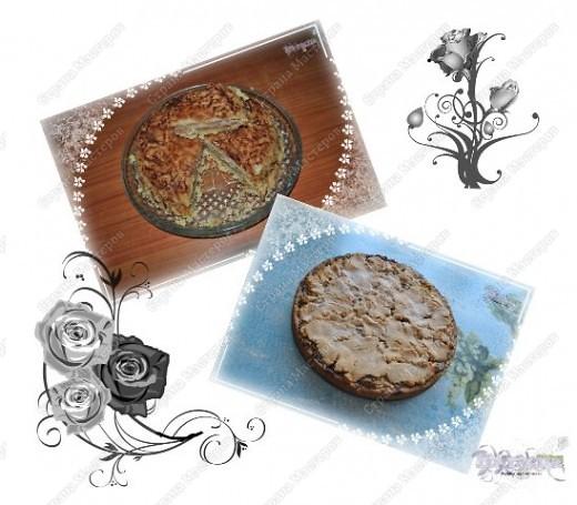 Сегодня я хочу Вас угостить яблочными пирогами - очень вкусными!!!  С первым пирогом все просто и не бойтесь, что делается в сухую - пирог получится обязательно! А со вторым - немного придется повозится, но результат ммммм... вкусно!!! фото 1