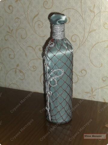 мои декорированные бутылочки) фото 1