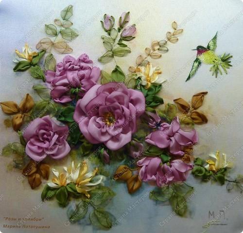 """Розы и колибри"" фото 2"