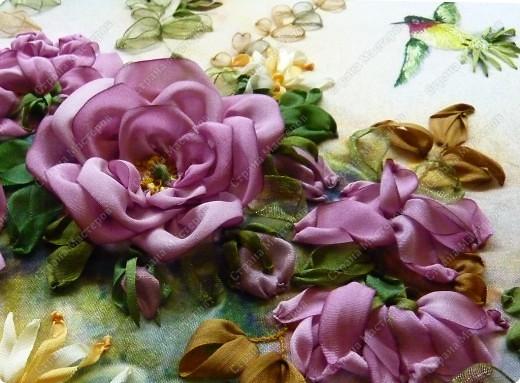 """Розы и колибри"" фото 9"