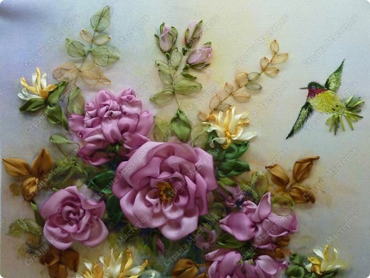 """Розы и колибри"" фото 4"