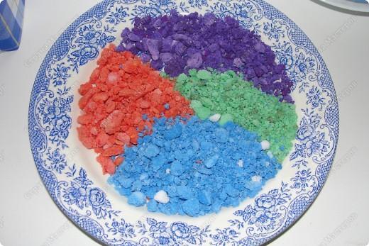 сушила соль для насипушек в микроволновке после просеивания получились такие камушки прегоревшей соли фото 1