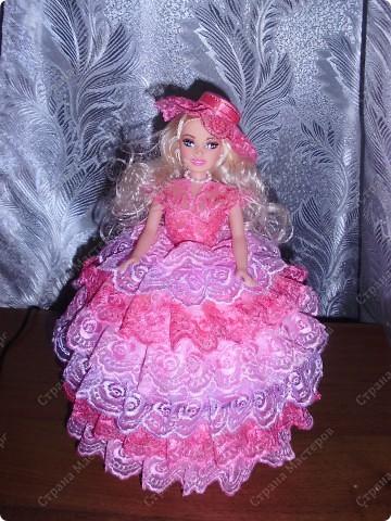 вот такая куколка в подарок племяннице Лизуньке фото 1