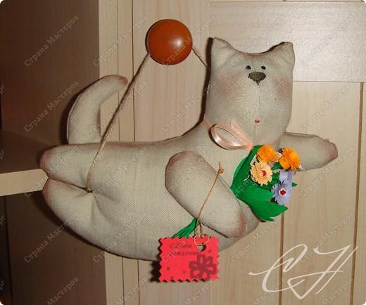 Котейка. Сделан в подарок на день рождения. фото 1