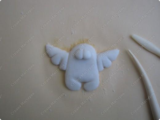 Хочу подарить жителям Страны мини МК  по созданию вот такого ангелочка фото 4