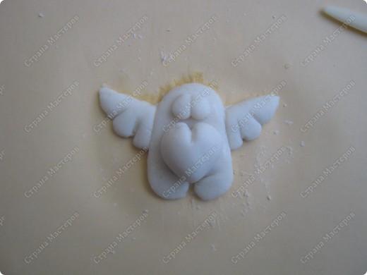 Хочу подарить жителям Страны мини МК  по созданию вот такого ангелочка фото 5