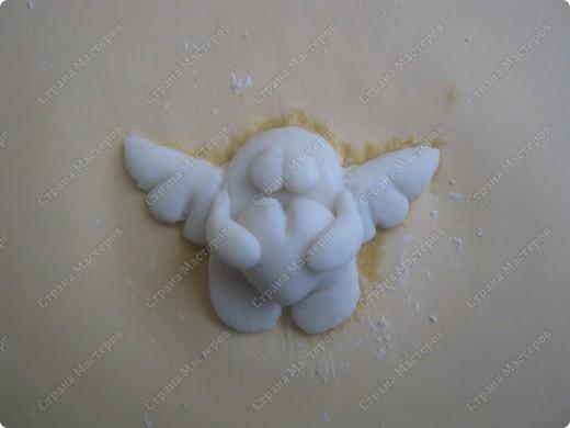 Хочу подарить жителям Страны мини МК  по созданию вот такого ангелочка фото 7