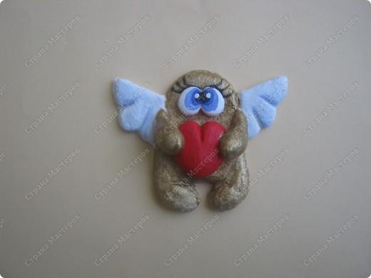 Хочу подарить жителям Страны мини МК  по созданию вот такого ангелочка фото 8