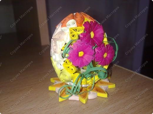 Квиллинг. Пасхальные яйца фото 3
