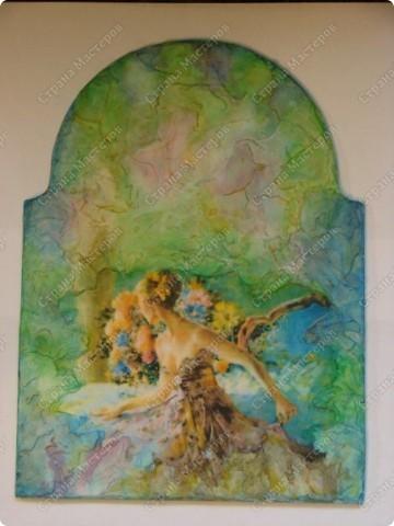 часики (имитация фрески) в доработке фото 1