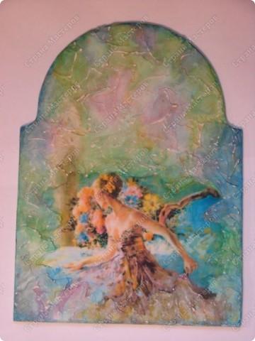 часики (имитация фрески) в доработке фото 2