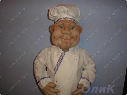 Шеф-повар. Вот такой красавец у меня получился! фото 8
