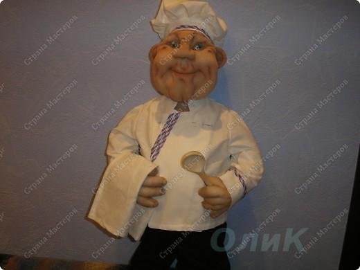 Шеф-повар. Вот такой красавец у меня получился! фото 9