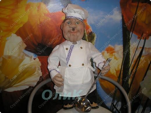 Шеф-повар. Вот такой красавец у меня получился! фото 2