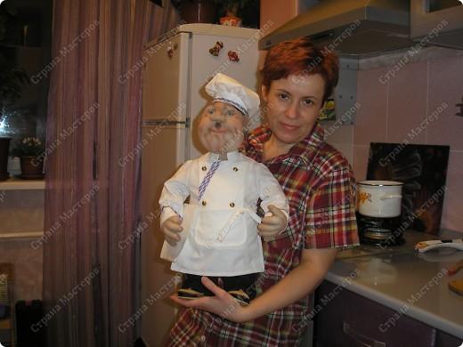 Шеф-повар. Вот такой красавец у меня получился! фото 3