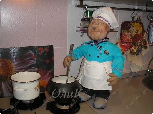 Шеф-повар. Вот такой красавец у меня получился! фото 12