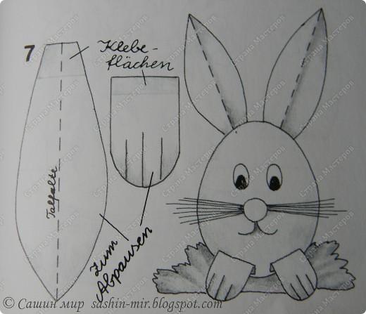 Есть у меня замечательная книжонка -  Mein buntes Bastelbuch (книга поделок), она на немецком языке,  я когда то была учительницей немецкого. Думаю по-немного вас знакомить с этим сокровищем и сейчас самое время для идей к пасхе. Не стала переводить  - там все и так понятно, но если что... я обязательно отвечу и объясню.Начнем!  фото 3