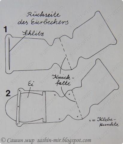 Есть у меня замечательная книжонка -  Mein buntes Bastelbuch (книга поделок), она на немецком языке,  я когда то была учительницей немецкого. Думаю по-немного вас знакомить с этим сокровищем и сейчас самое время для идей к пасхе. Не стала переводить  - там все и так понятно, но если что... я обязательно отвечу и объясню.Начнем!  фото 9