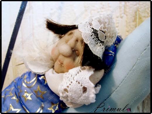 Вот и мой Сплюшка - шатен :)  После долгого трудового дня, повесил нимб на крючок и уснул на месяце )  фото 4