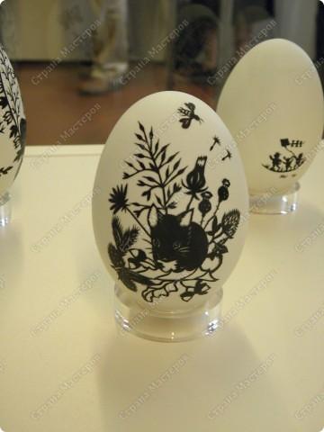 Продолжая начатую тему выставки пасхальных яиц. Это 2 часть.  Яйца украшены соломкой... фото 3